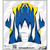 Macro Skin, Blue/Yellow: Spektrum DX5e