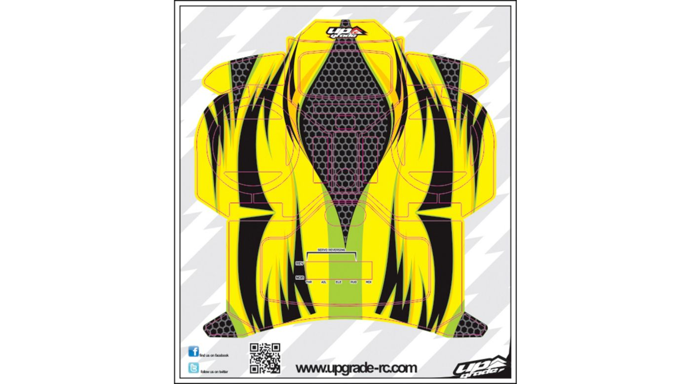 Image for Jinx Skin, Green/Yellow: Spektrum DX5e from HorizonHobby