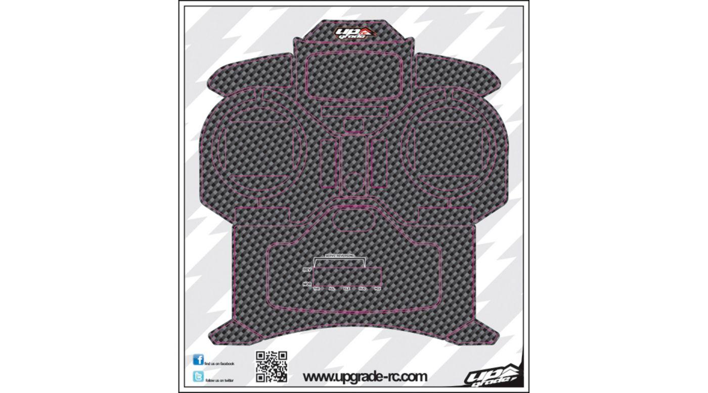 Image for Carbon Skin, Black: Spektrum DX5e from HorizonHobby