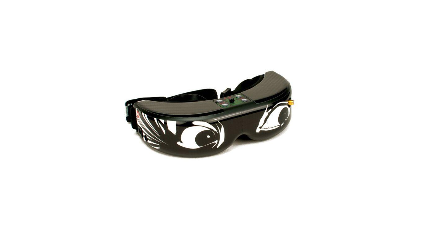 Image for Spektrum/Fat Shark FPV Goggle Skin: Crazy Eyes from HorizonHobby
