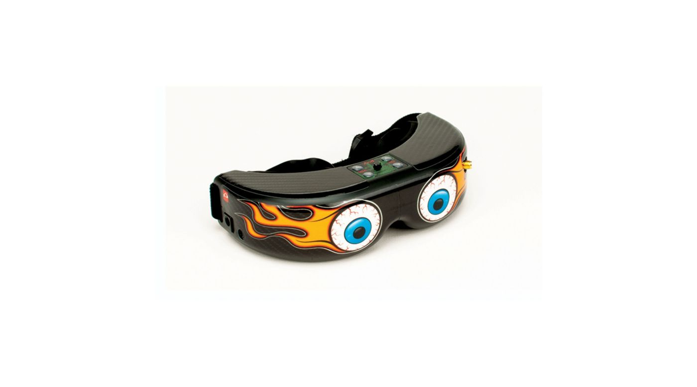 Image for Spektrum/Fat Shark FPV Goggle Skin: Fire Eyes from HorizonHobby