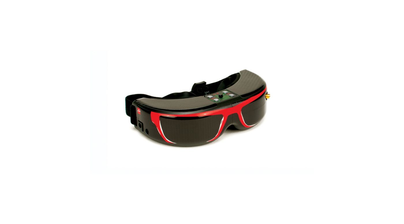 Image for Spektrum/Fat Shark FPV Goggle Skin: Sun Glasses Red from HorizonHobby