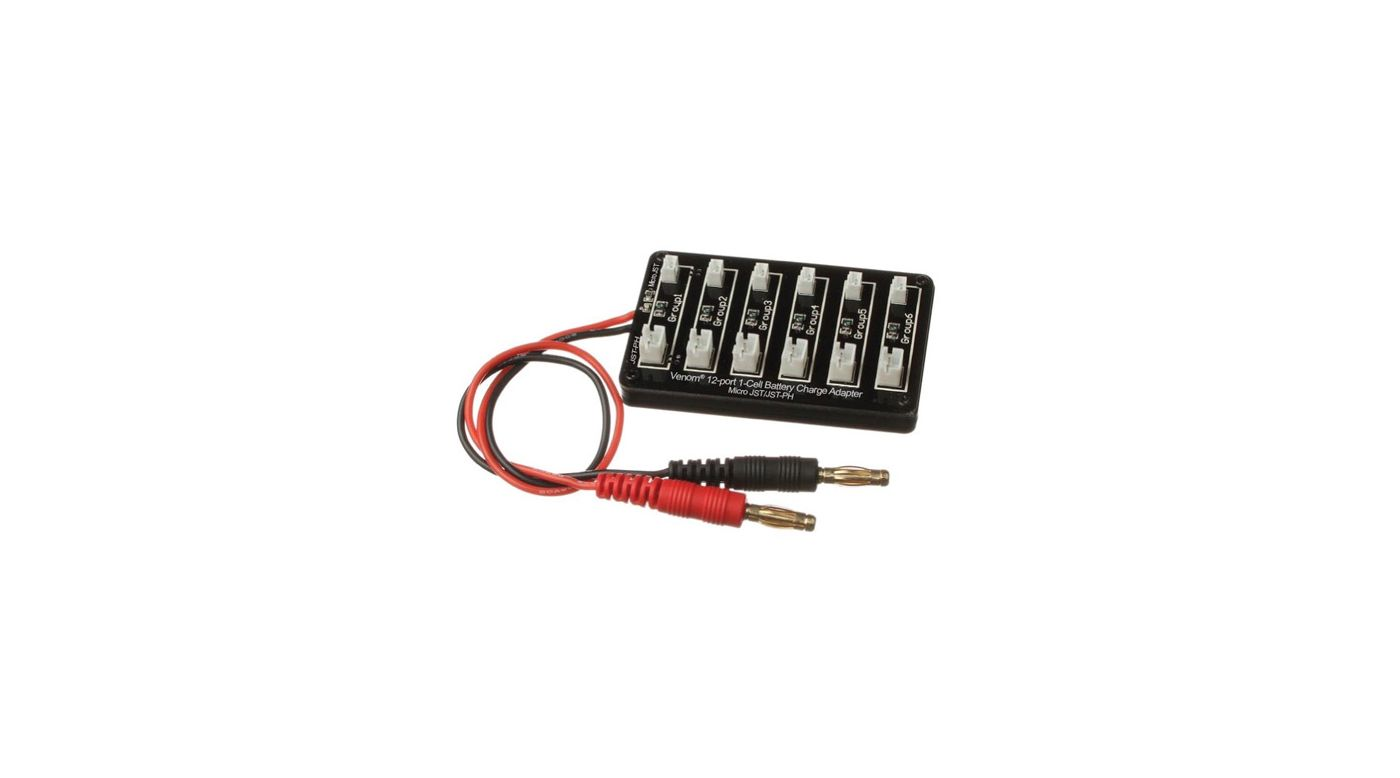 Image for 12 Port, 1S Charge Adapter from HorizonHobby