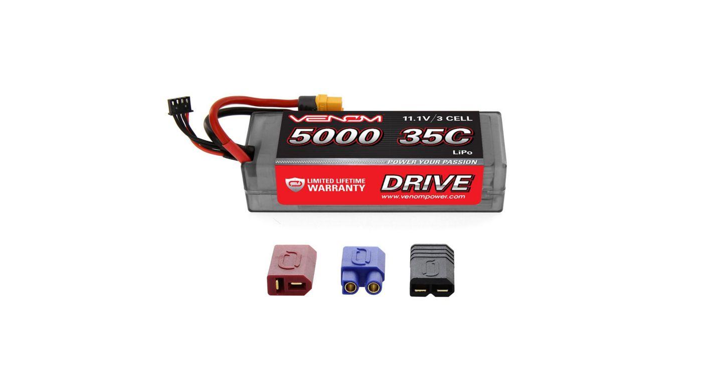 Image for 11.1V 5000mAh 3S 35C DRIVE  Hardcase LiPo Battery: UNI 2.0 Plug from HorizonHobby