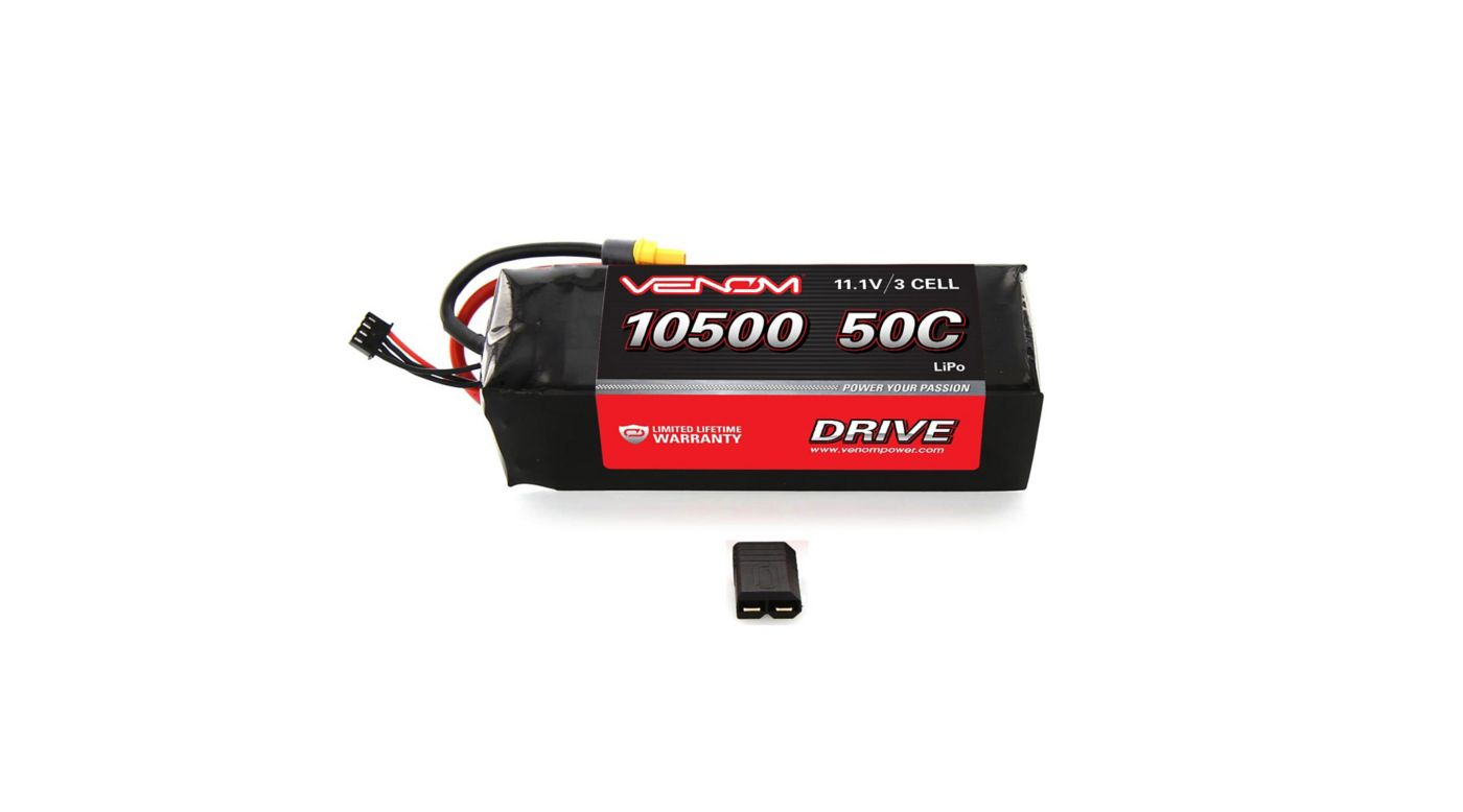 Image for 11.1V 10500mAh 50C 3S LiPo Battery: XMaxx from HorizonHobby