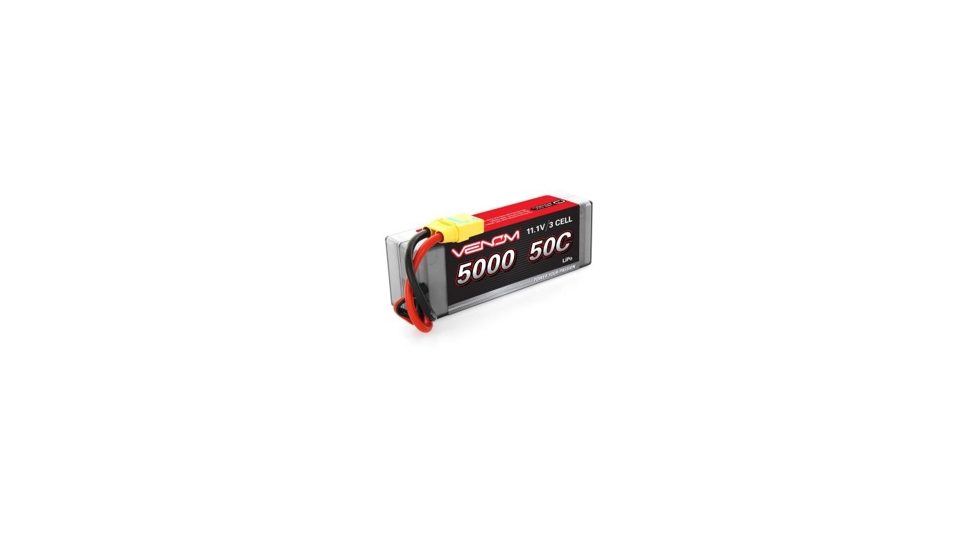 Image for 11.1V 5000mAh 3S 50C DRIVE Hardcase LiPo Battery: XT90-S from HorizonHobby
