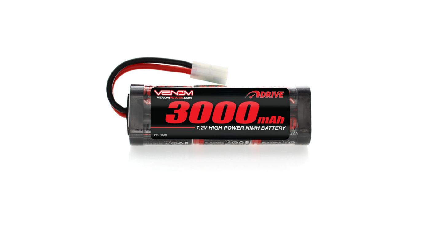 Image for 7.2V 3000mAh 6-Cell DRIVE NiMH Starter Battery: Tamiya Connector from HorizonHobby