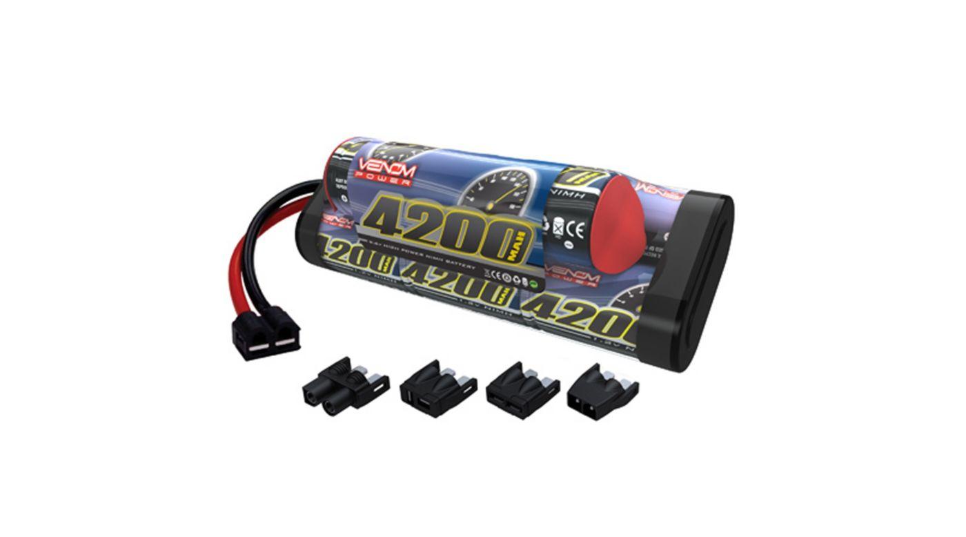 Image for 9.6V 4200mAh 8-Cell NiMH Hump Battery, TRA Conn from HorizonHobby