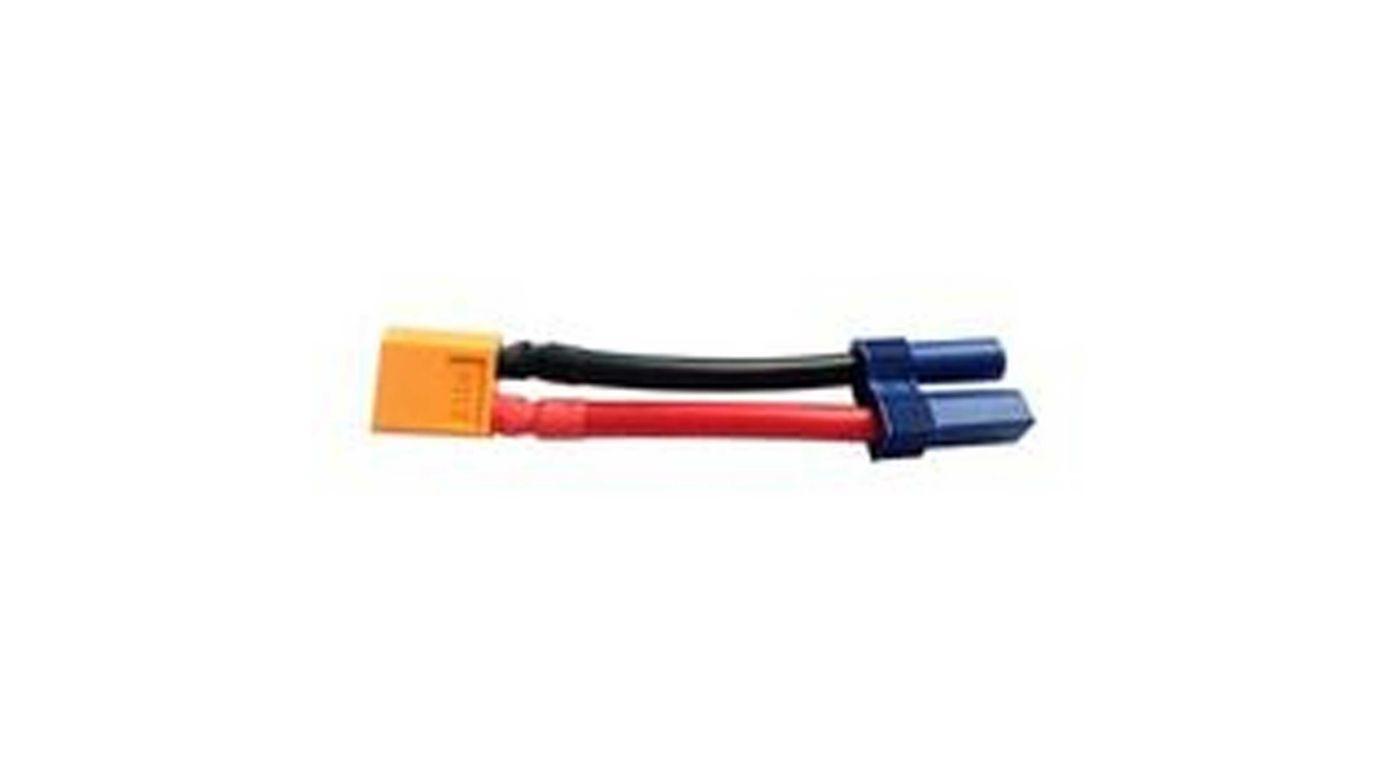 Image for Adapter: XT60 Device / EC5 Battery, 10 AWG from HorizonHobby