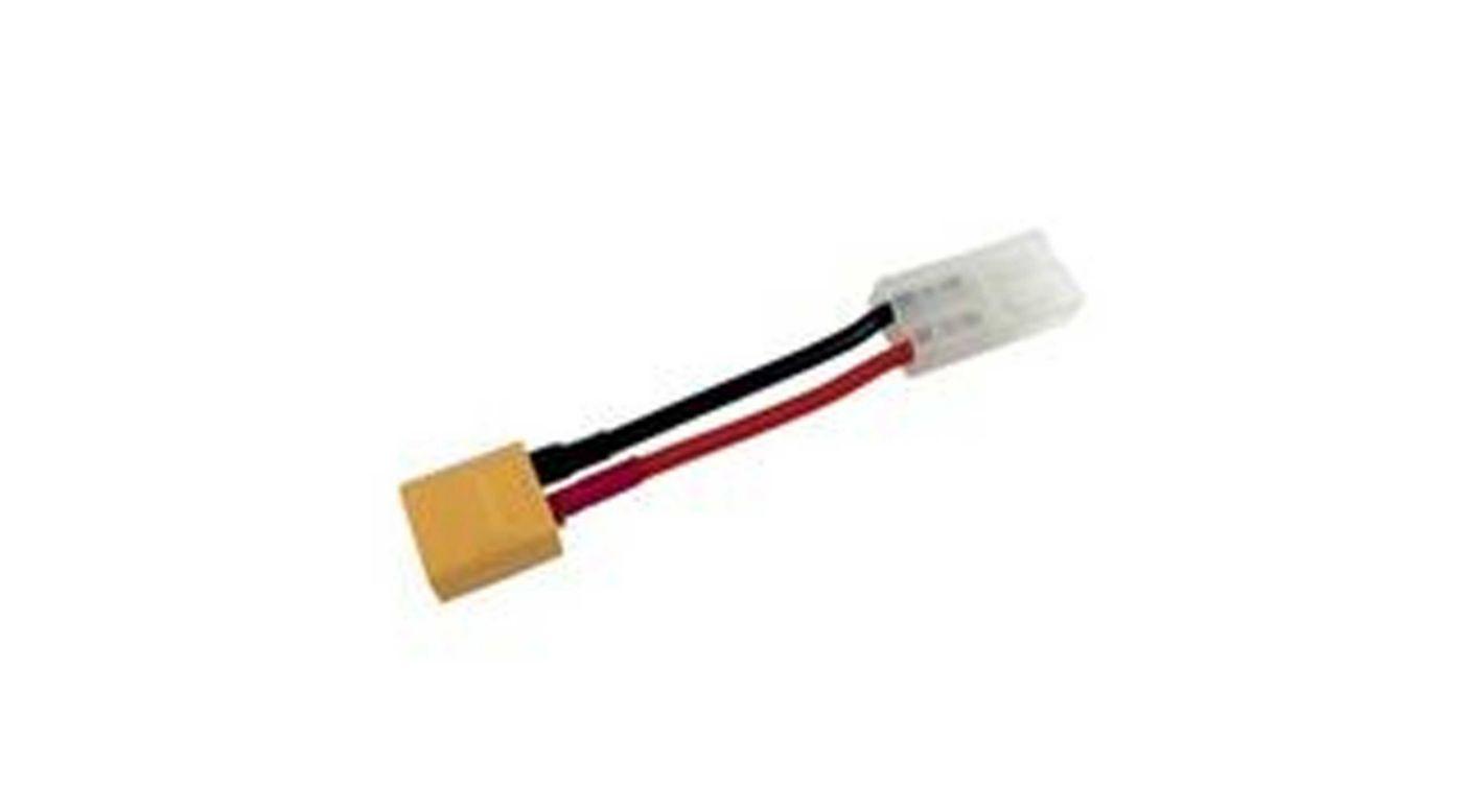 Image for Adapter: XT60 Device / Tamiya Battery, 14 AWG from HorizonHobby