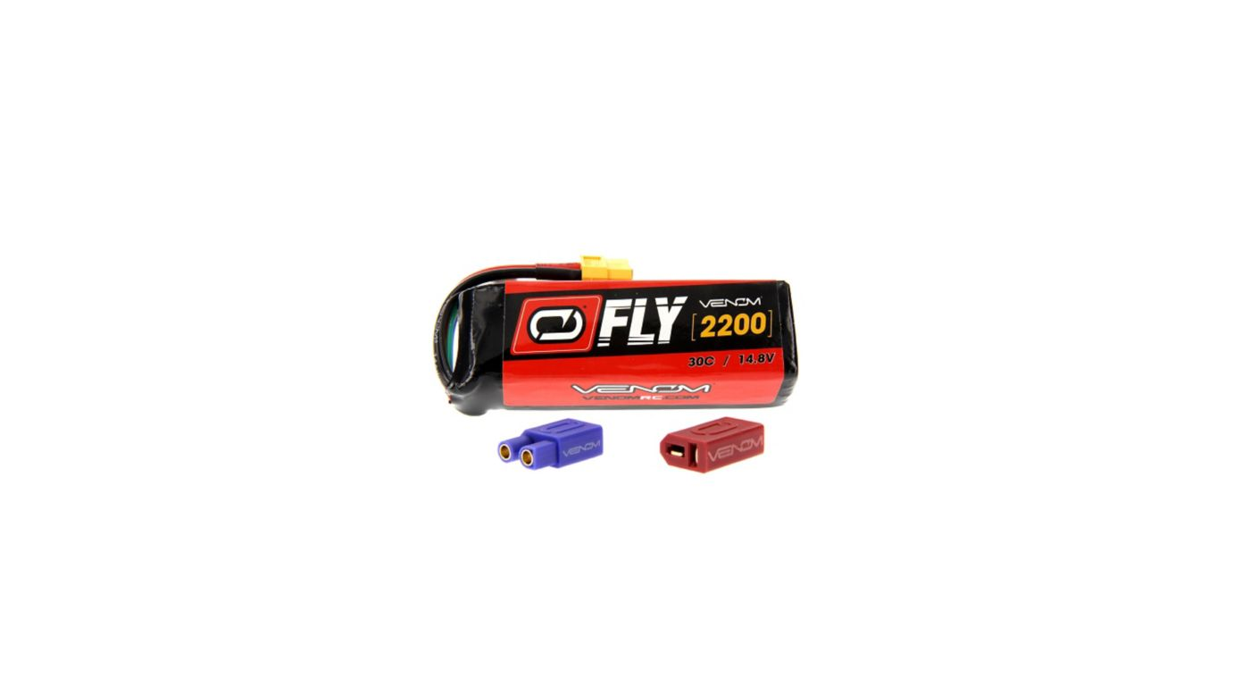 Image for Fly 14.8V 2200mAh 30C 4S LiPo, UNI 2.0 from HorizonHobby