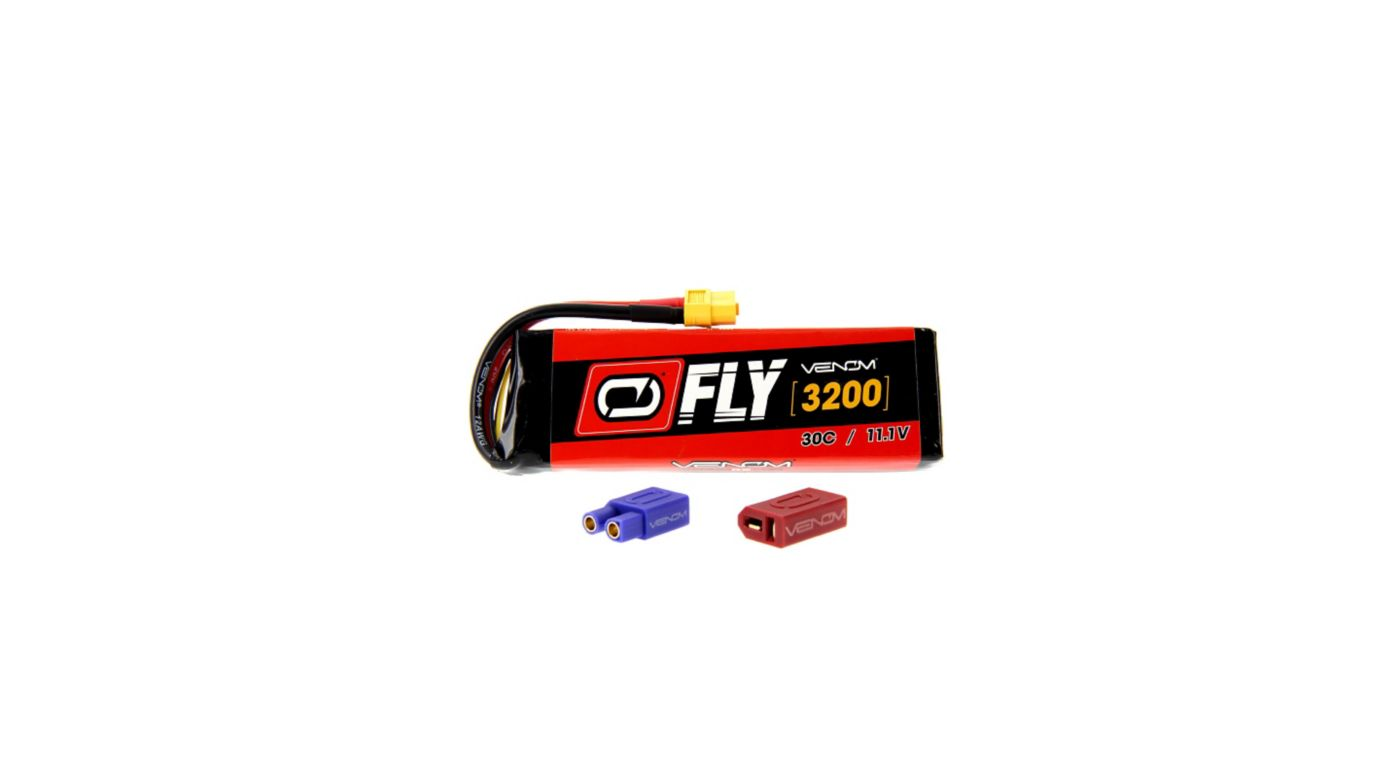 Image for Fly 11.1V 3200mAh 30C 3S LiPo, UNI 2.0 from HorizonHobby