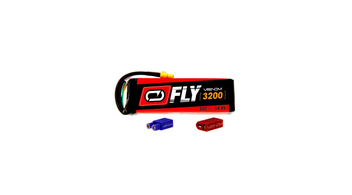 Image for 14.8V 3200mAh 4S 30C FLY LiPo Battery: UNI 2.0 Plug from HorizonHobby