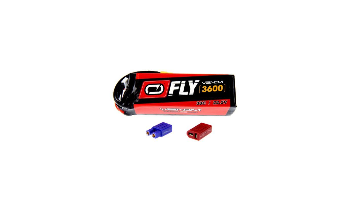 Image for 22.2V 3600mAh 6S 30C FLY LiPo Battery: UNI 2.0 Plug from HorizonHobby