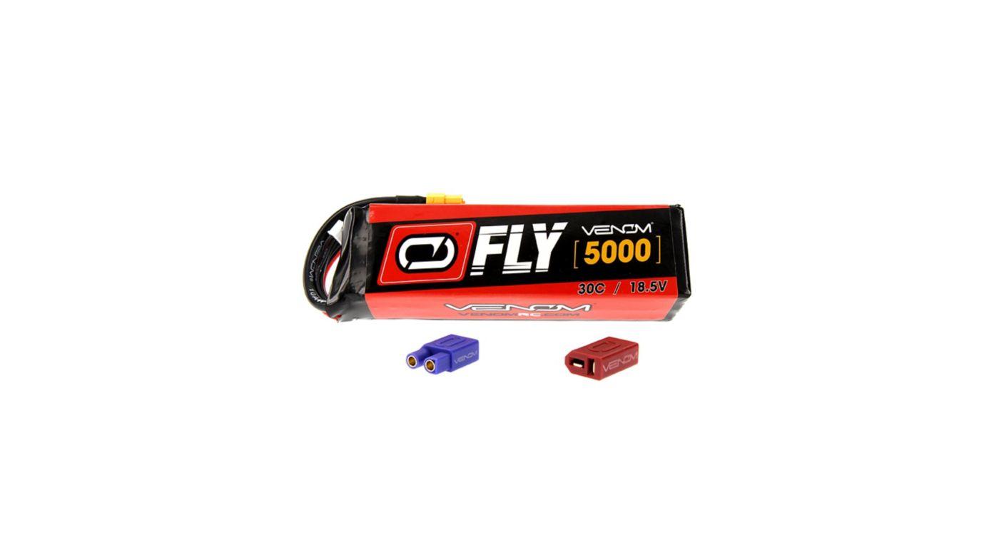 Image for 18.5V 5000mAh 5S 30C FLY LiPo Battery: UNI 2.0 Plug from HorizonHobby