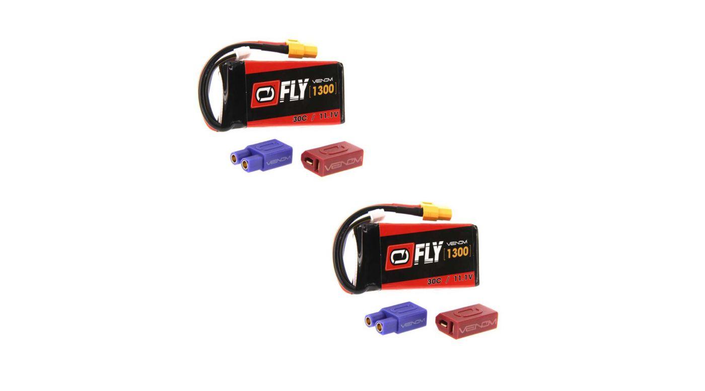 Image for 11.1V 1300mAh 3S 30C LiPo Battery: UNI 2.0 Plug (2) from HorizonHobby