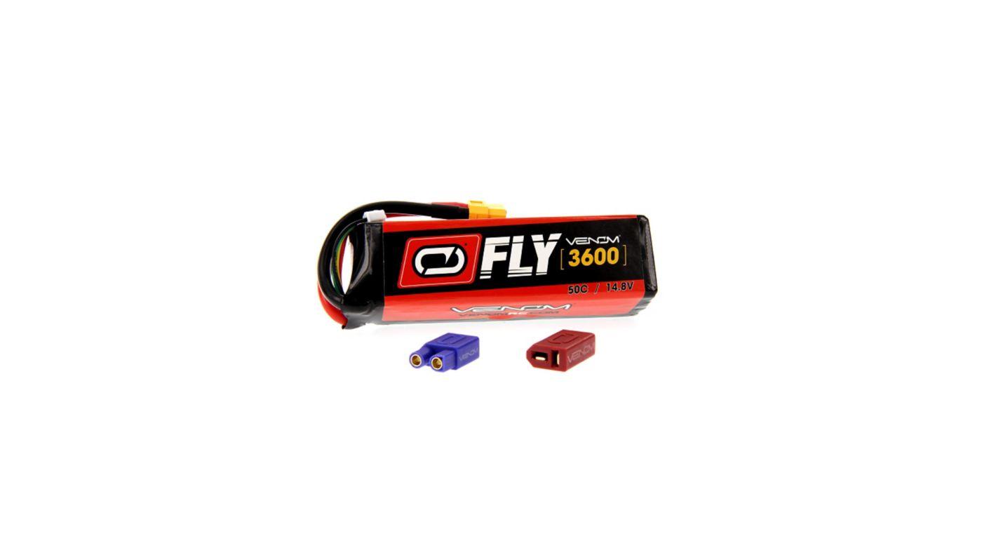 Image for 14.8V 3600mAh 4S 50C FLY LiPo Battery: UNI 2.0 Plug from HorizonHobby