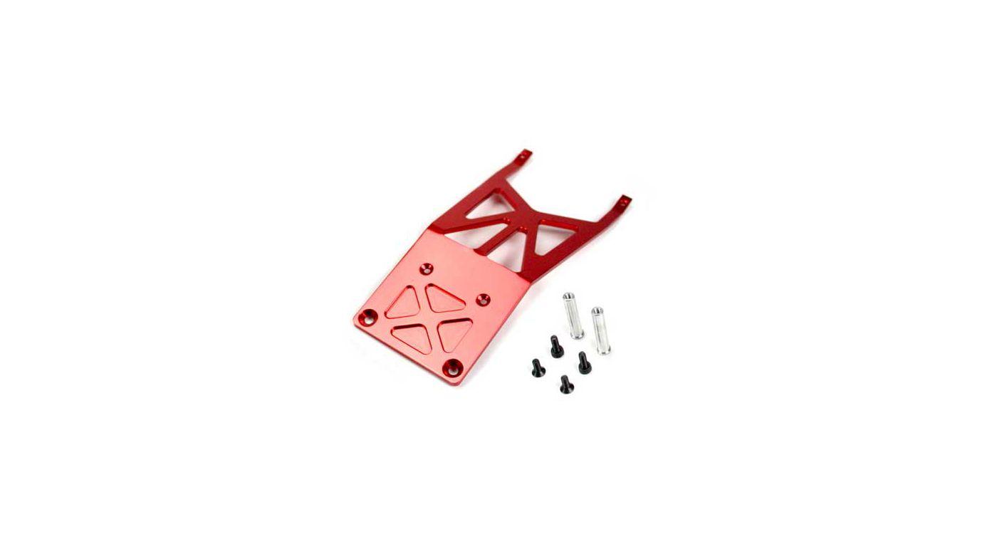 Image for Red Aluminum Front Bulkhead: TRA Slash from HorizonHobby