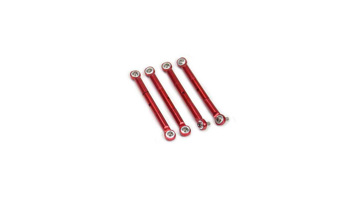 Image for Aluminum Front / Rear adj.Tie Rod Red: TRA Slash from HorizonHobby