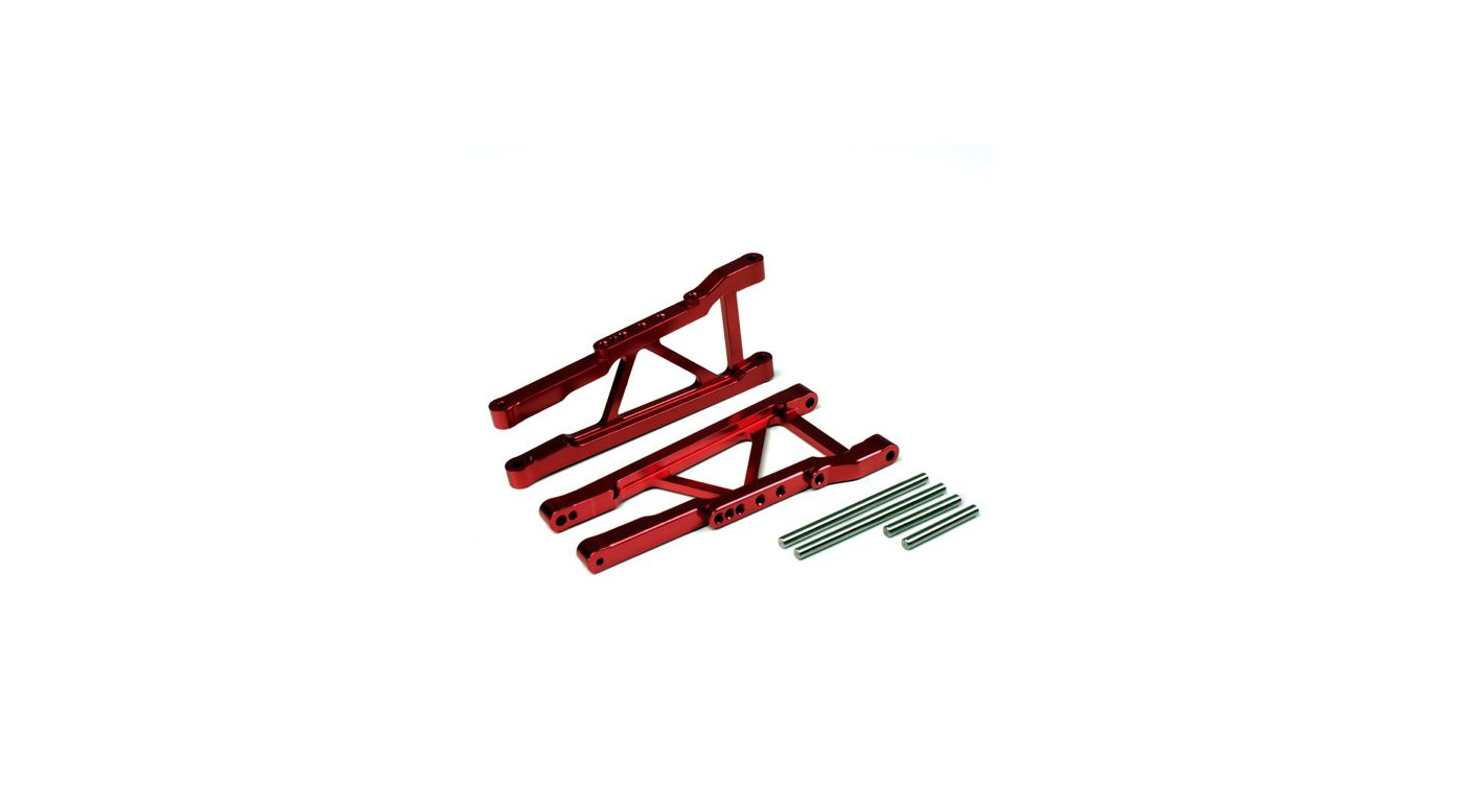 Image for Aluminum Front Lower Arm,Red: Slash 4x4 from HorizonHobby
