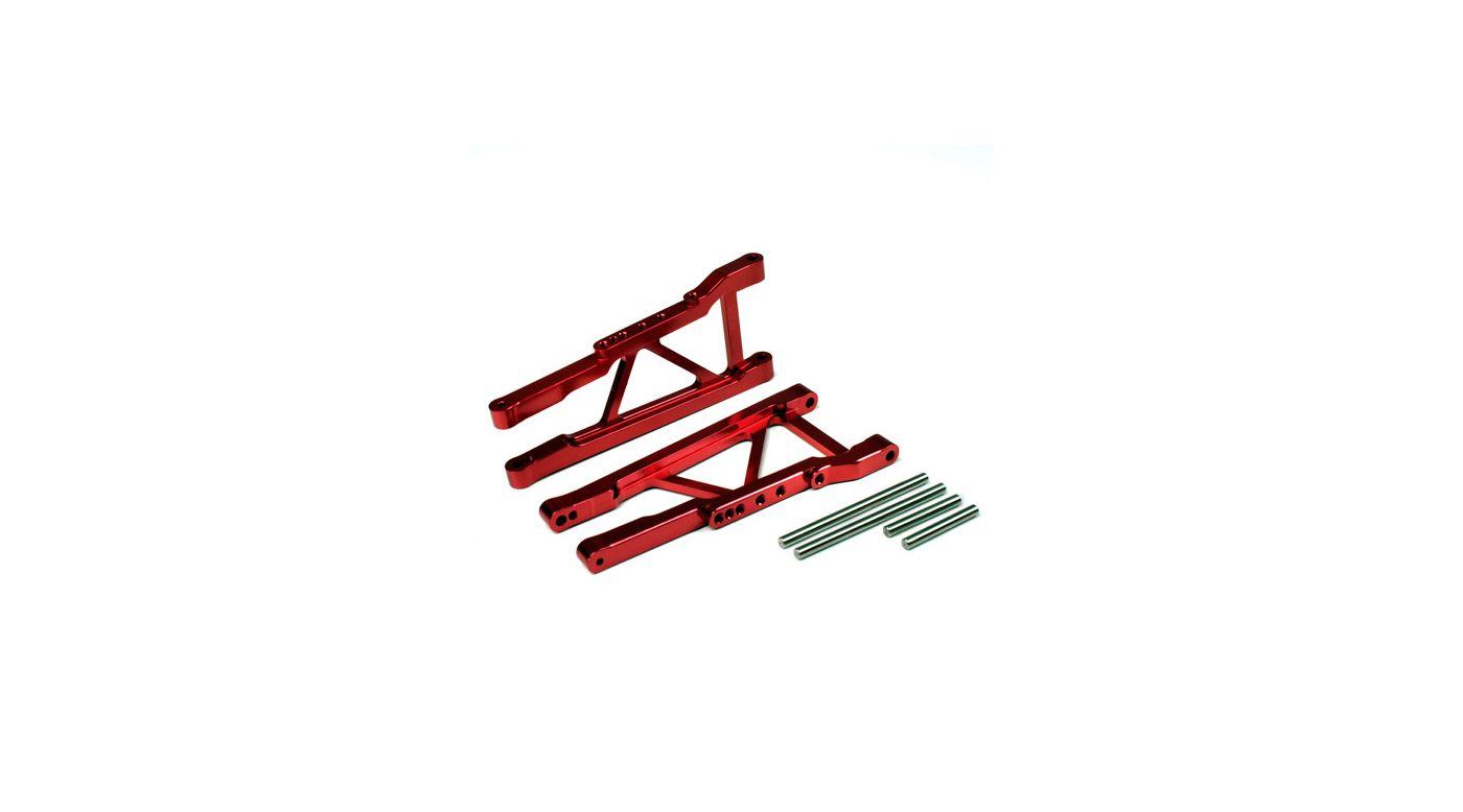 Image for Aluminum Rear Lower Arm Red: Slash 4x4 from HorizonHobby