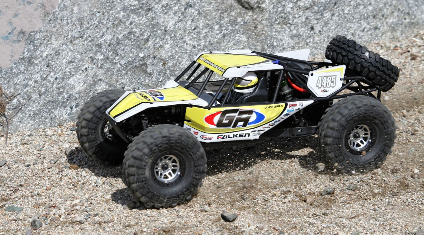Image for 1/10 Twin Hammers 1.9 4WD Rock Racer Kit from HorizonHobby