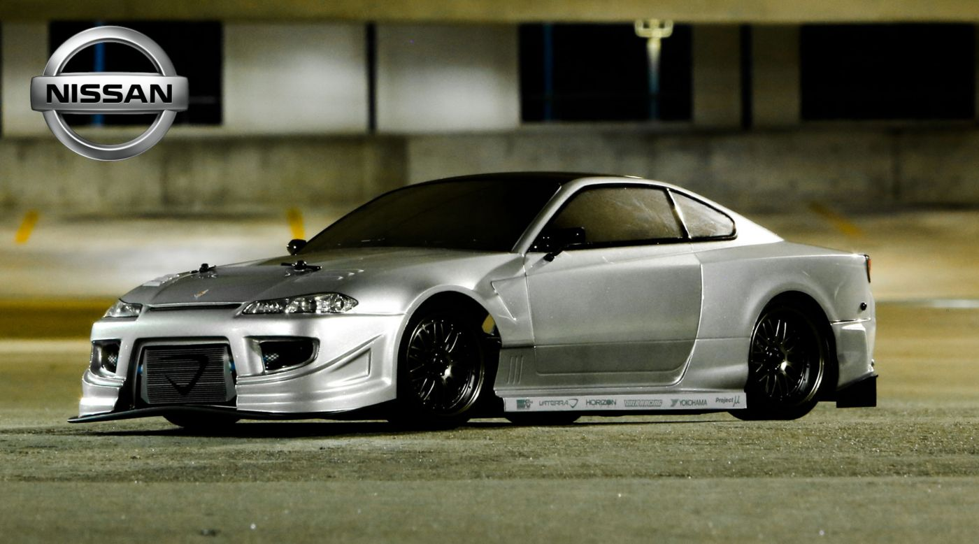 1/10 Nissan Silvia S15 Officially Licensed Ready-To-Run ...