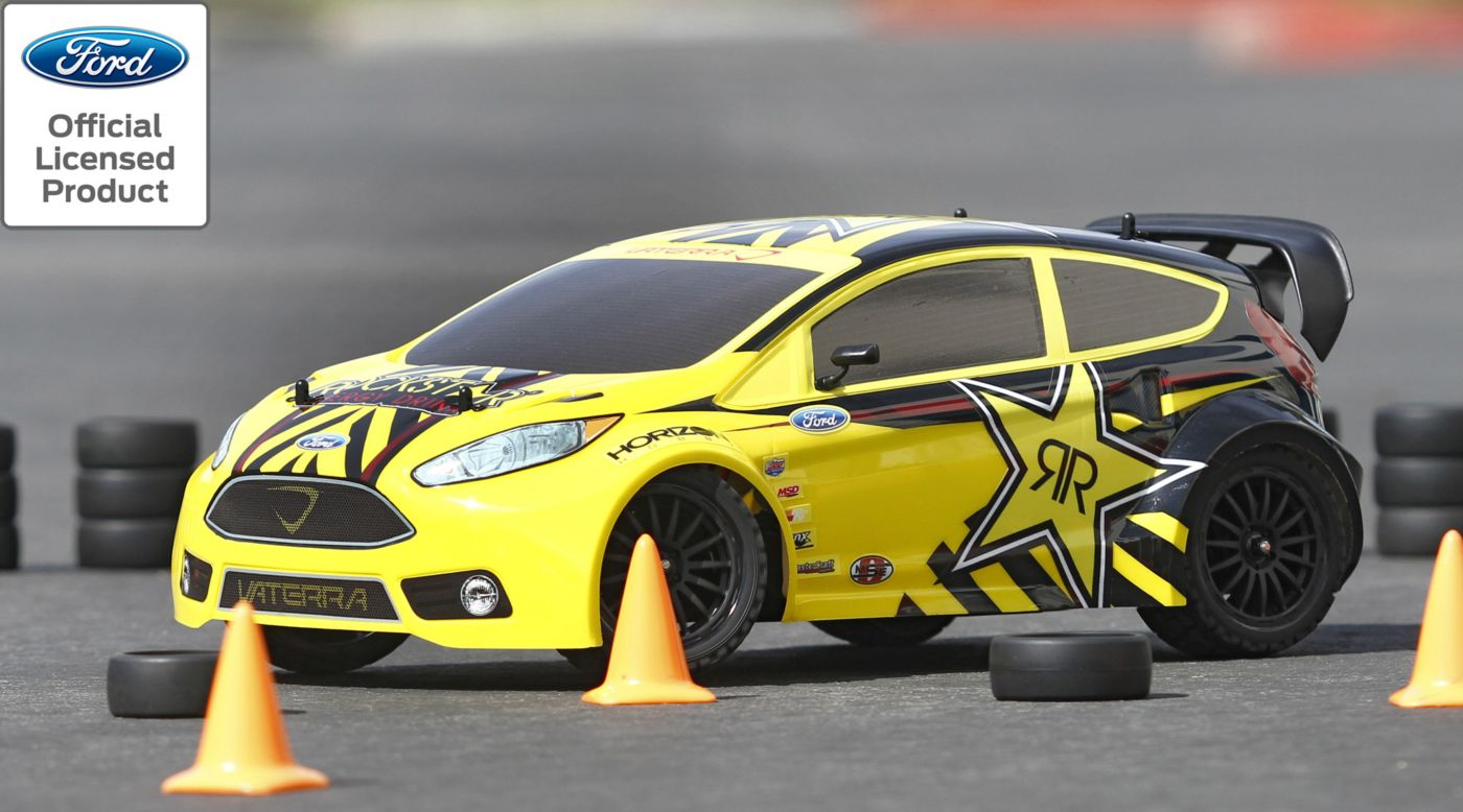 Image for 1/10 Ford Fiesta Rockstar RallyCross 4WD Car RTR with AVC Technology from HorizonHobby