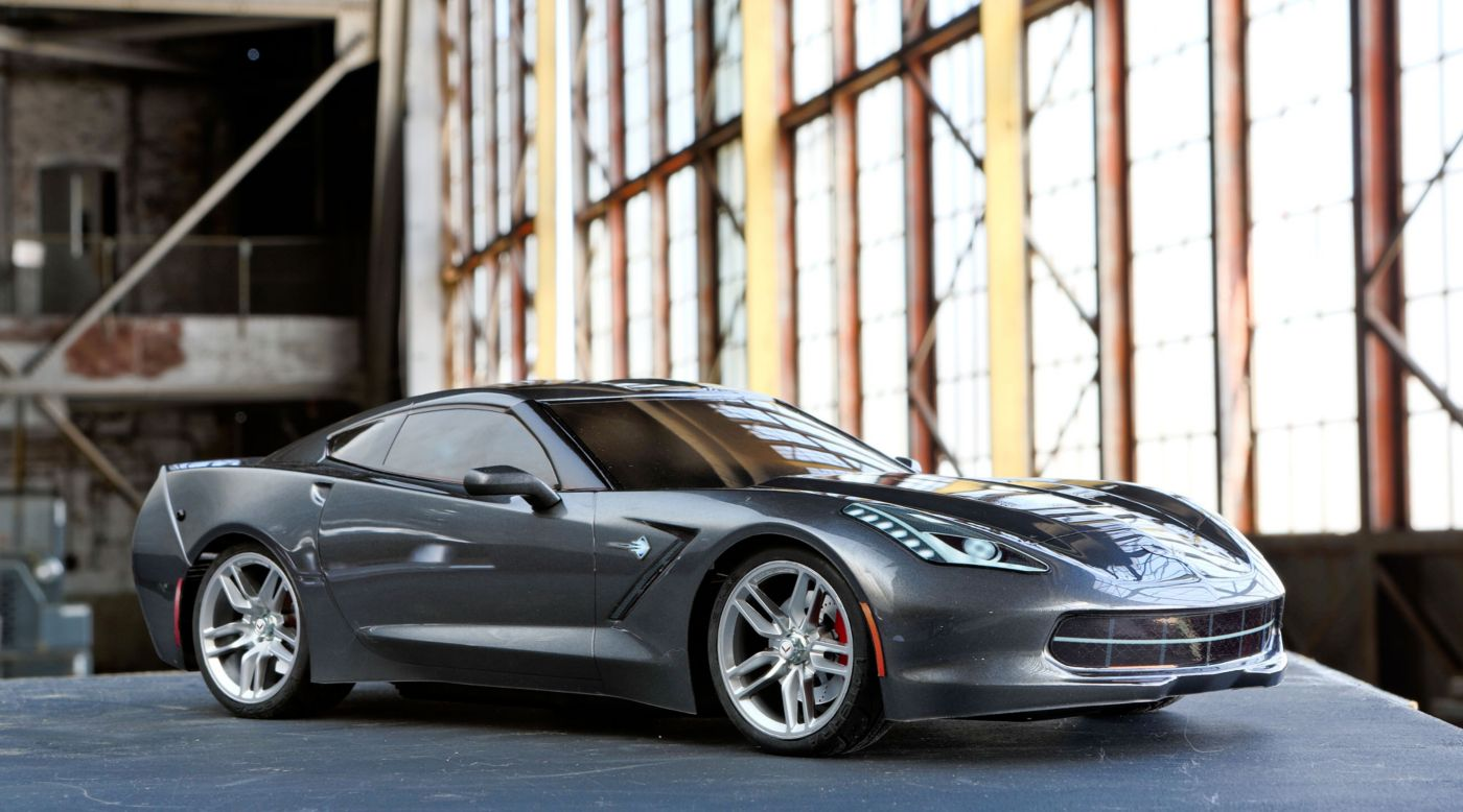 Image for 1/10 2014 Chevrolet Corvette Stingray RTR, V100-S from HorizonHobby