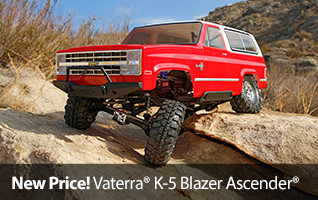 New Low Price on the Vaterra 1/10 K-5 Blazer Ascender RTR Scale RC Truck