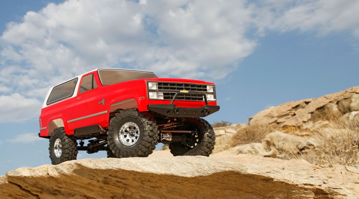 Image for 1/10 1986 Chevrolet K-5 Blazer Ascender 4WD Brushed RTR from HorizonHobby