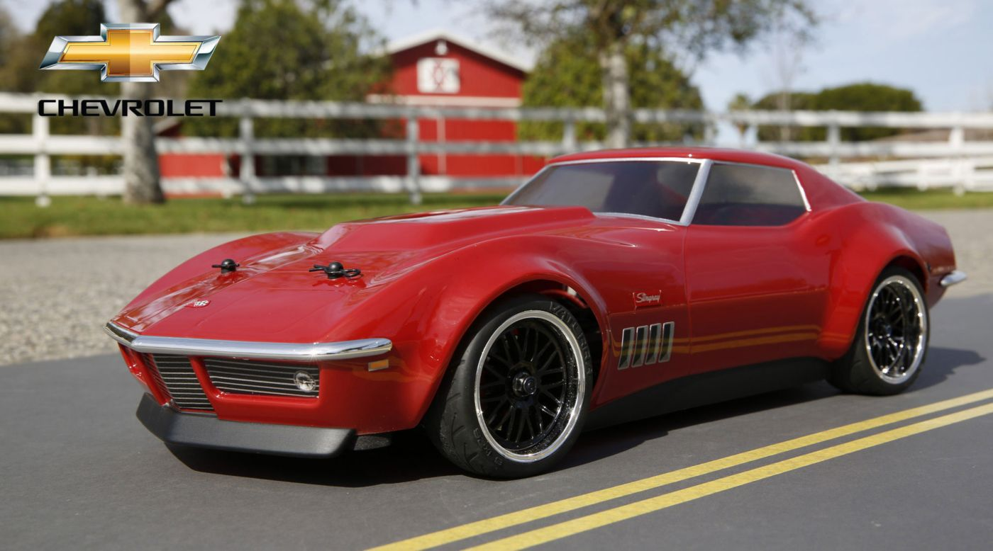 Image for 1/10 1969 Custom Corvette Stingray V100-S RTR from HorizonHobby