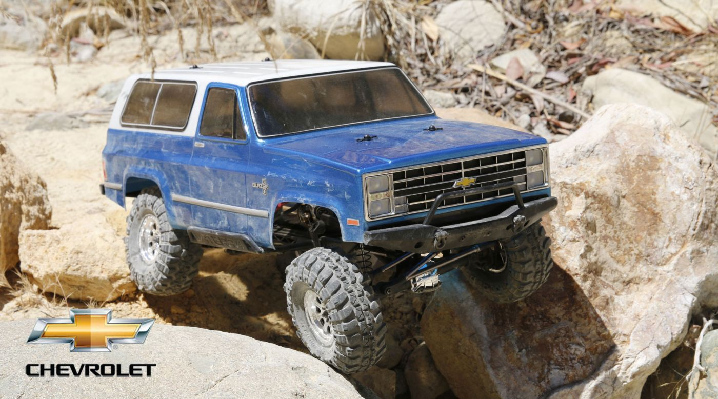 Vaterra 1/10 1986 Chevrolet K-5 Blazer Ascender 4WD RC Rock Crawler Kit | Horizon Hobby