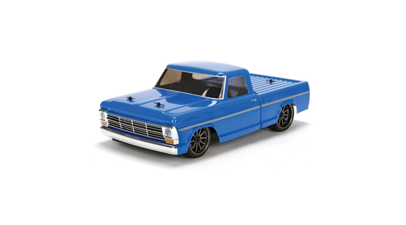 Image for 1/10 1968 Ford F-100 Pick Up Truck V100-S 4WD Brushed RTR from HorizonHobby