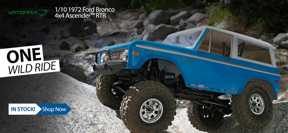 1972 Chevrolet® K-5 Blazer Ascender® 1/10-Scale Off-Road 4WD RTR