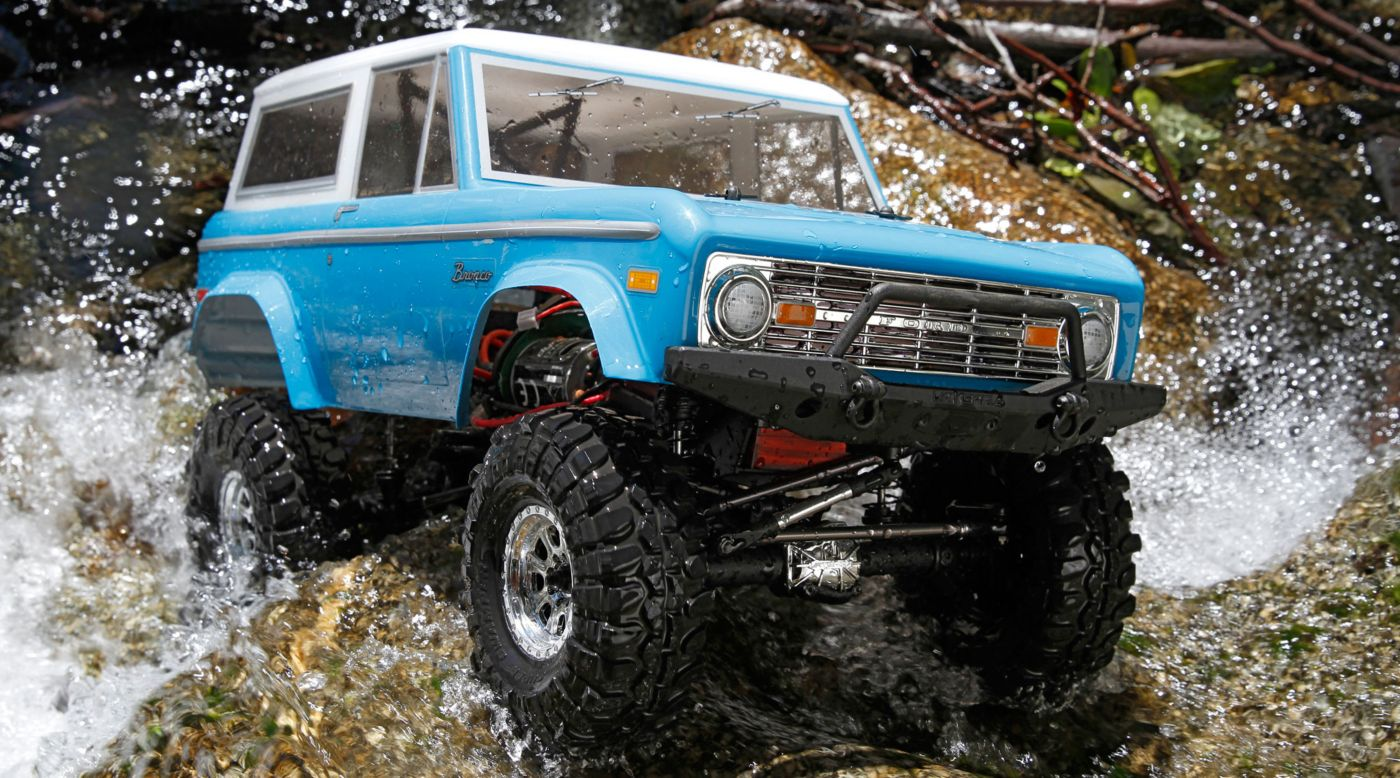 Image for 1/10 1972 Ford Bronco 4x4 Ascender Brushed RTR from HorizonHobby