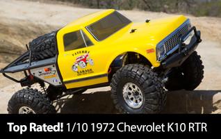 Vaterra 1/10 1972 Chevrolet K10 Pickup Ascender 4WD Brushed RTR