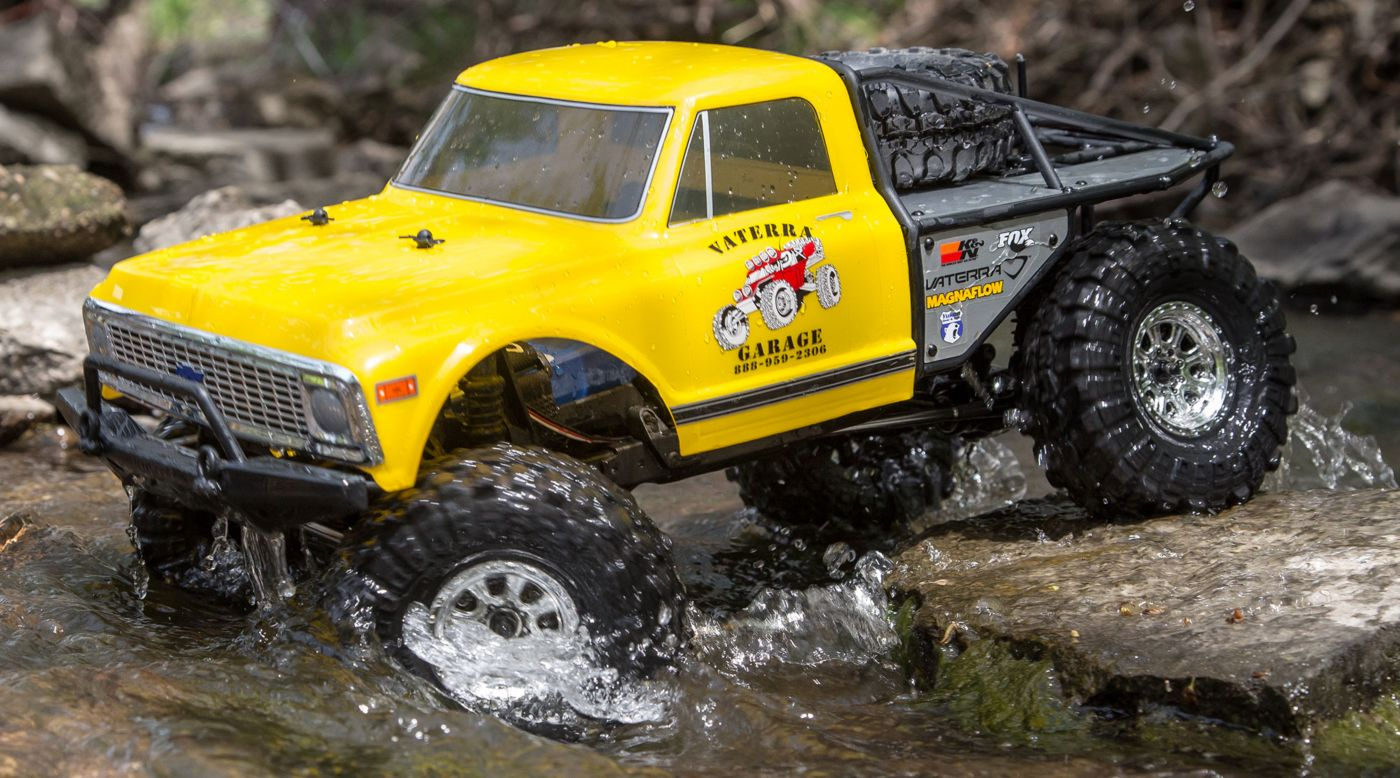 Image for 1/10 1972 Chevrolet K10 Pickup Ascender 4WD Brushed RTR from HorizonHobby