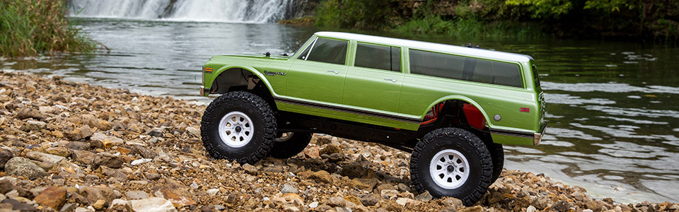 Vaterra 1/10 1972 Chevy Suburban Ascender 4WD RTR Footer