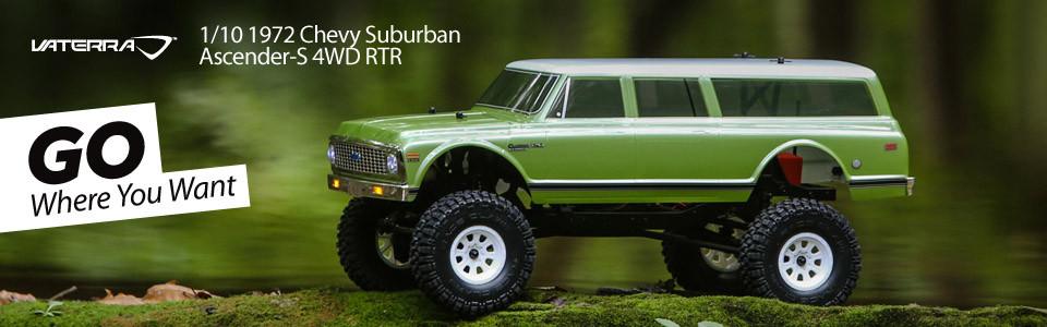 Vaterra 1/10 1972 Chevy Suburban Ascender 4WD RTR Header