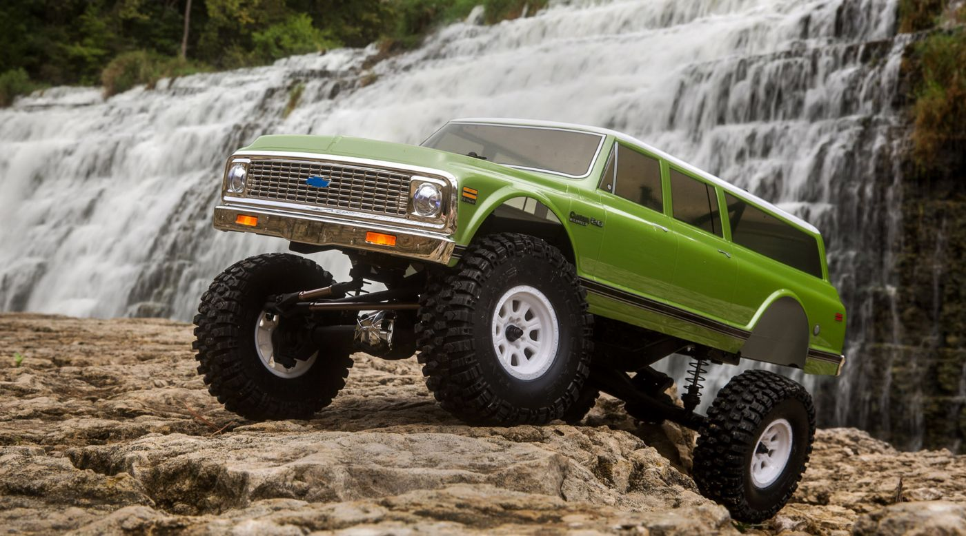 Image for 1/10 1972 Chevy Suburban Ascender-S 4WD Rock Crawler Brushed RTR from HorizonHobby