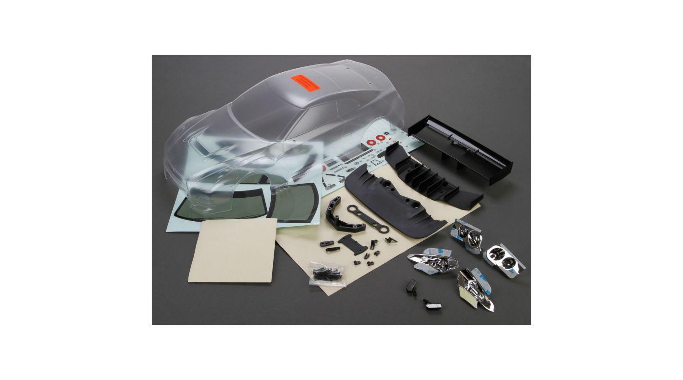 Image for Body Set, Clear: 1/10 2012 Nissan GTR GT3, V100 from HorizonHobby