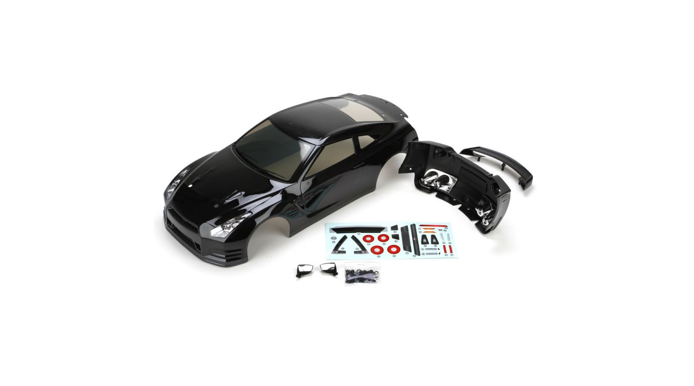 Image for 2012 Nissan GTR Body,Black:V100 from HorizonHobby