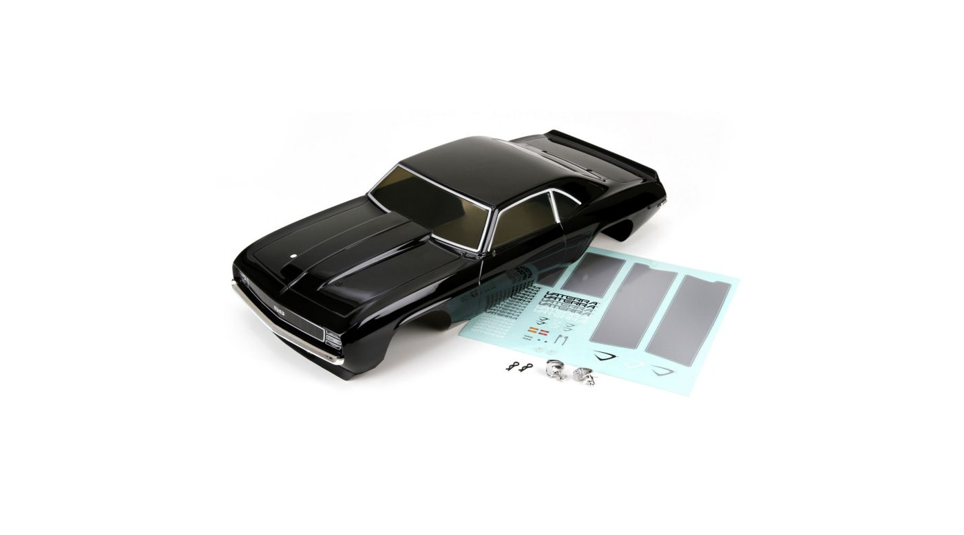 Image for Body Set, Painted Black: 1/10 1969 Chevrolet Camaro SS, V100 from HorizonHobby