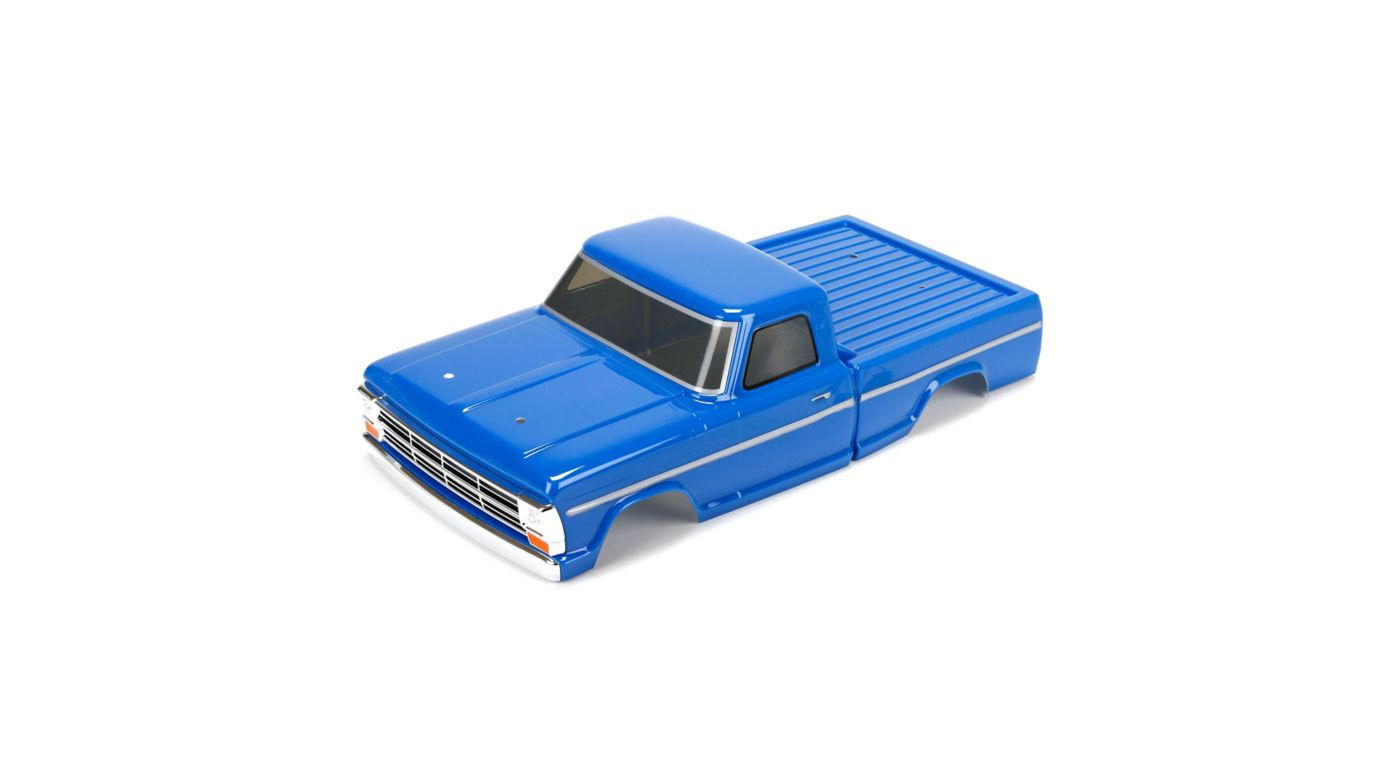 Image for Body Set, Blue Painted: 1/10 1968 Ford F-100 V100-S from HorizonHobby