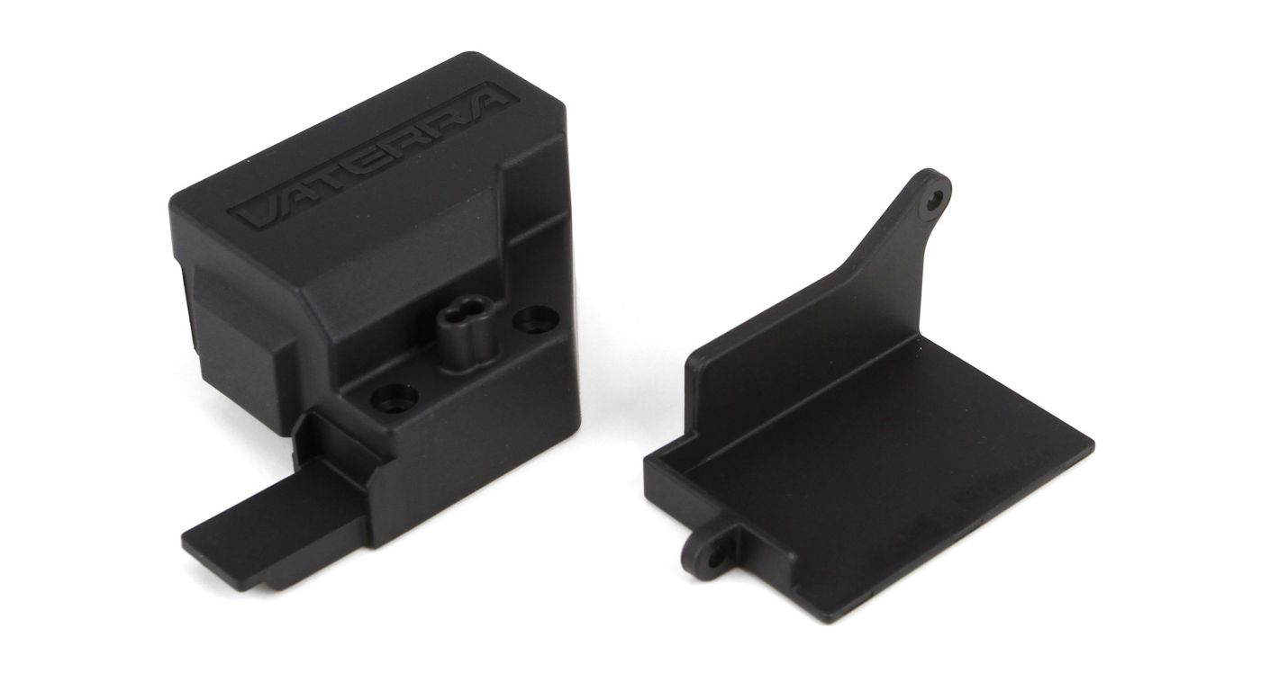 Image for Receiver Mount & Cover: Hal, Rap from HorizonHobby