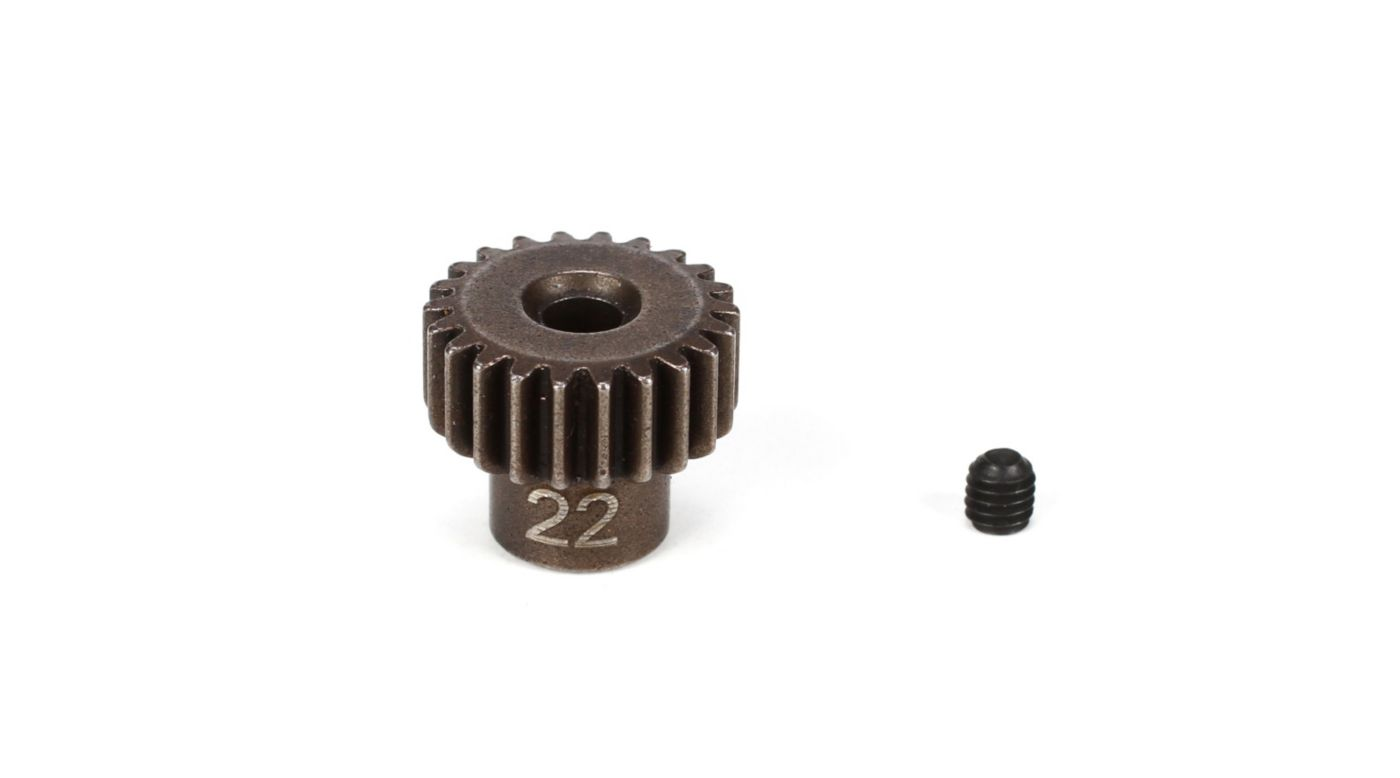 Image for Pinion Gear 22T, 48P, M3 x 3 Set Screw from HorizonHobby