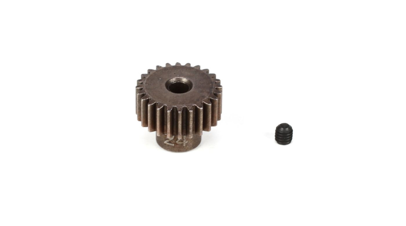 Image for Pinion Gear 24T, 48P, M3 x 3 Set Screw from HorizonHobby