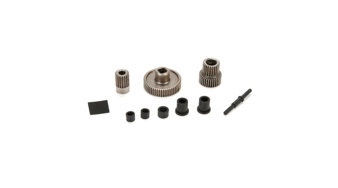 Image for Center Transmission Gear Set and Spacers: ASN from HorizonHobby