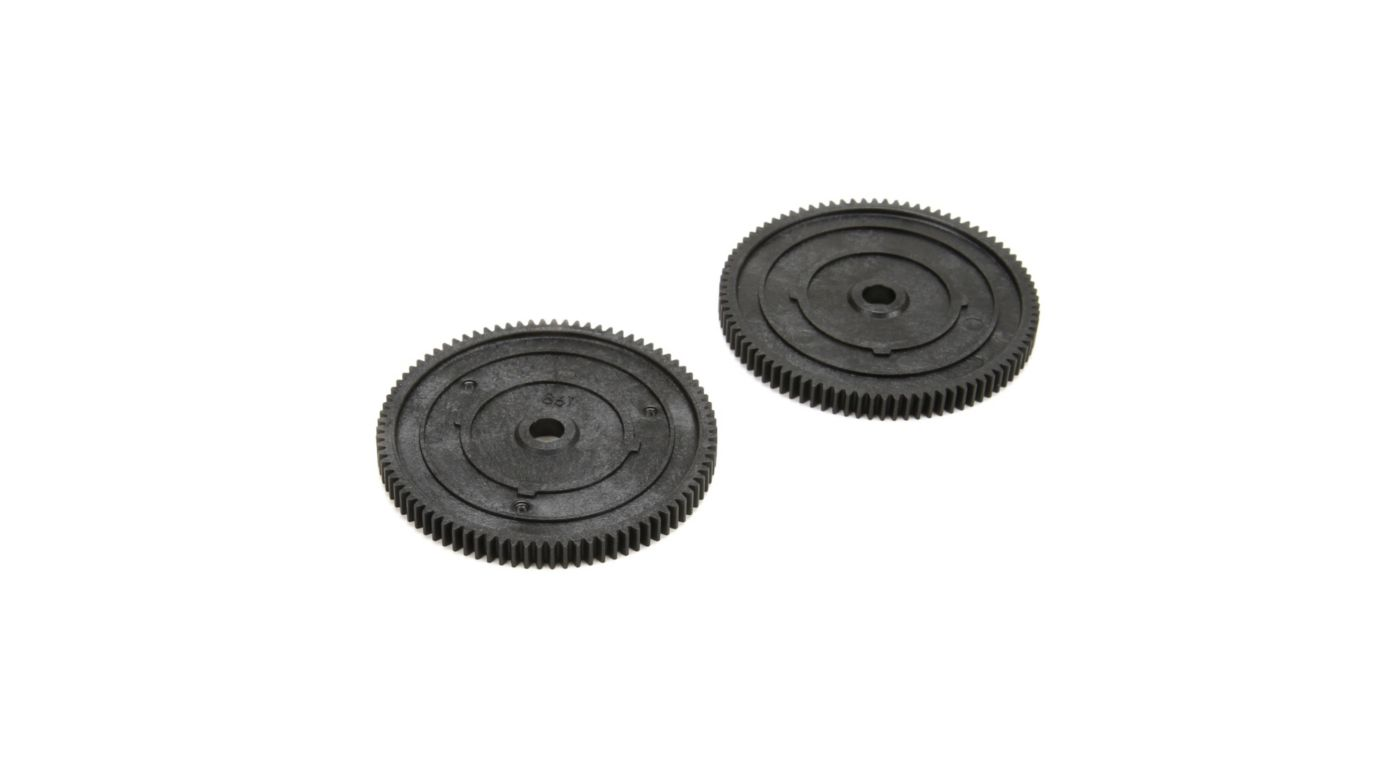 Image for Spur Gear, 86T, 48P (2) from HorizonHobby